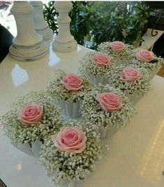 Bouquet idea for the decoration of self-service tables or for wine . Bouquet idea for decorating self-service tables or for the reception. - Idea of bouquet for the decoration of self-ser. Wedding Centerpieces, Wedding Table, Diy Wedding, Wedding Reception, Wedding Flowers, Dream Wedding, Wedding Day, Trendy Wedding, Reception Decorations