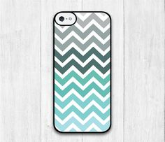 Mint Chevron iPhone 5C case iphone 5C hard cover by iCaseBeauty