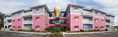 Welcome to Banyan Park, our latest expansion at Give Kids The World Village! This bright and whimsical three-story building offers 24 new villas that will enable us to host more families on property.