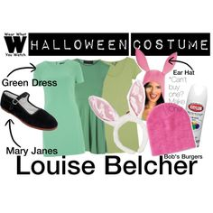 Halloween Costume - Louise Belcher