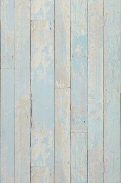 Country Wood | Papel de parede azul | Papéis de parede adicionais | Papel de parede dos anos 70