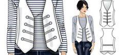FREE Cute vest pattern.