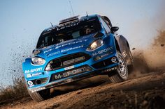 Mads Ostberg during WRC Rally Argentina 2016 Shakedown stage with M-Sport Ford Fiesta RS WRC.