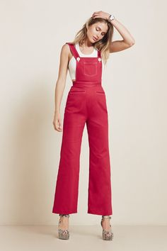 The Hawthorne Overall   https://thereformation.com/products/hawthorne-overall-red