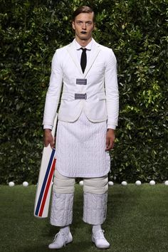 Moncler Gamme Bleu Spring 2014 Men's Collection