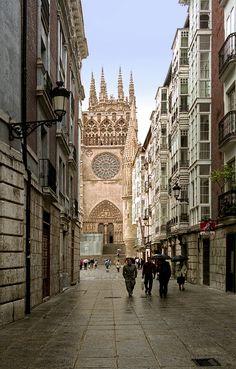 Calle, Burgos-Spain