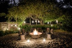 41 Hottest Outdoor Fireplace Designs Ideas For Barbecue Party Garden Fire Pit, Fire Pit Backyard, Backyard Beach, Backyard Patio, Backyard Ideas, Outdoor Fireplace Designs, Outdoor Dining, Outdoor Decor, Outdoor Areas