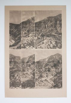 Box elder mountains print | from delaflamant on Etsy.