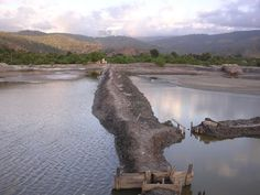 Aquaculture salt and fishponds at Tibar, Dili Timor-Leste