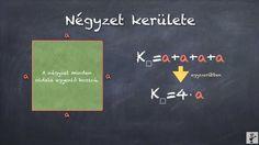 Kerület - Téglaalap, négyzet, háromszög kerülete - Matek 5. osztály VIDEÓ - Kalauzoló - Online tanulás