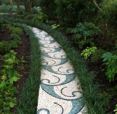 23 Beautiful DIY Mosaic Garden Path Decorations For Your Landscape Inspiration - Insidexterior - 23 Beautiful DIY Mosaic Garden Path Decorations For Your Landscape Inspiration - Mosaic Walkway, Mosaic Rocks, Pebble Mosaic, Mosaic Diy, Stone Mosaic, Rock Mosaic, Mosaic Ideas, Stone Garden Paths, Garden Stones
