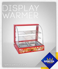 Display Warmer Harga : Rp 2.500.000 untuk info spesifikasi silahkan kunjungi website kami http://ramesiamesin.com/display-warmer-showcase-warmer/