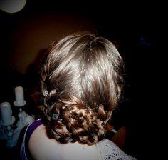 Katniss reaping braid