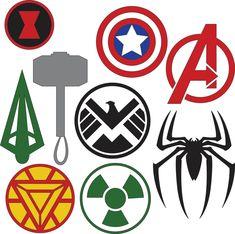 Popular items for green arrow on etsy logo marvel, marvel superhero logos, superhero logo Marvel Logo, Marvel Superhero Logos, Superhero Logo Templates, Superhero Symbols, Avengers Symbols, Superhero Party, Marvel Avengers, Avengers Shield, Logo Maker