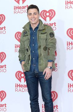'Arrow' actor Colton Haynes attended the iHeartRadio Music Festival on September 19, 2014 in Las Vegas as one of the event's presenters. For the special occasion, Haynes wore the label's J-Amma Military Jacket with Patches. Haynes completed his look in double denim, opting for a denim shirt and skinny jeans. MORE IN http://www.creativeboysclub.com/colton-haynes-attends-iheartradio-music-festival-in-double-denim-diesel-patch-military-jacket