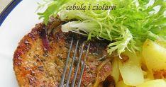 Schabowy przygotowany nieco inaczej - bez panierki, ze sporą ilością ziół, z czosnkiem i cebulką. Bardzo pyszny i w sumie szybki - mięso rob...