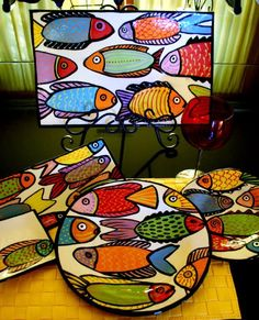 Ceramic Fish Plates - Ceramic Fish Plates - Ideas on Foter Informatio . Ceramic Fish Plates – Ceramic Fish Plates – Ideas On Foter Information About Ceramic Fish Plate Pottery Painting, Ceramic Painting, Ceramic Art, Fish Design, Plate Design, Cerámica Ideas, Wal Art, Clay Fish, Fish Plate