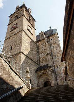 This photo from Styria, East is titled 'The fortified church St. Heart Of Europe, Prussia, Lithuania, Homeland, Austria, Vocabulary, Switzerland, Roots, Medieval
