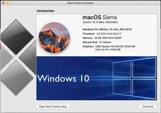 Download and/or Install Windows 10 on MAC OS Sierra using Bootcamp witho...
