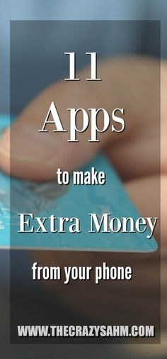 Start earning extra money to pay off your debt today with these apps! #debt #debtsnowball #money #moneyapps #makingmoney #sidehustle