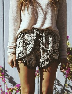 Venetian Pom Pom Shorts – SHEER HAVEN