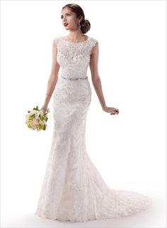 Maggie Sotterro beautiful wedding dress
