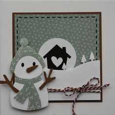 Met de sneeuwpop stans van Eline Pellinkhof kun je verschillende sneeuwpoppen maken. In dit blogbericht zie je 3 kaarten met steeds weer een andere sneeuwpop.