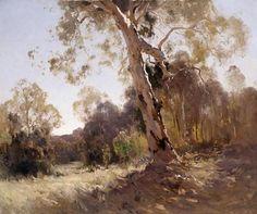 The Athenaeum - Bushland (Penleigh Boyd - ) Impressionist Landscape, Landscape Art, Landscape Paintings, Landscapes, Australian Painters, Australian Artists, Classic Paintings, Beautiful Paintings, Westerns