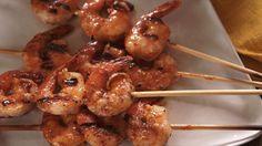 Buffalo Mexican Shrimp Skewers Recipe : Nancy Fuller : Food Network