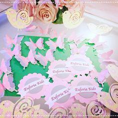 Decorazioni per inaugurazione locale bambini... ❤️ #angeliecandele #silhouette #butterfly #tag #euforiakids
