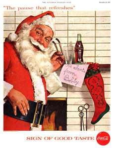 Vintage coca cola Santa                                                                                                                                                                                 More