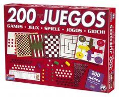 200 Juegos Reunidos - Juego de mesa. Juega hasta 200 juegos diferentes con todos los accesorios que contiene 200 juegos reunidos. #juegodemesa