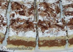 Puncsos szelet Tiramisu, Food And Drink, Ethnic Recipes, Sweet, Candy, Tiramisu Cake