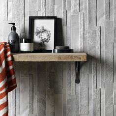 New Marmi Grey Splitface tiles form Verona. Decorative Split face tiles that can be grouted to make them water tight! Cool addition to any bathroom. Porcelain Tile, Verona, Grey Wall Tiles, Marble Tile Bathroom, Lets Stay Home, Tile Design, Cladding, Entryway Tables