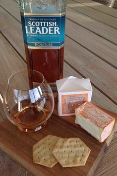 Ways to pair Brebirousse d'Argental with whiskyScottish Leader Signature Blended whisky and Brebirousse d'Argental cheese pairing. What a great pairing  #whiskycheesepairing