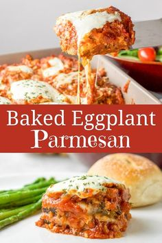 10 Most Misleading Foods That We Imagined Were Being Nutritious! You Bake The Eggplant Instead Of Frying It In Oil Which Means You Can Use More Cheese In This Comforting Baked Eggplant Parmesan Vegetable Dishes, Vegetable Recipes, Vegetarian Recipes, Cooking Recipes, Healthy Recipes, Vegetable Bake, Pork Recipes, Eggplant Dishes, Eggplant Recipes