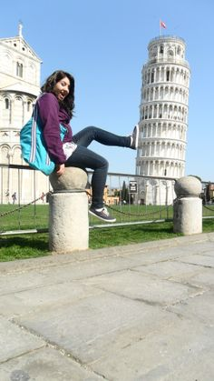 Bucket list Item: visit Italy and kick over the leaning tower. CHECK!