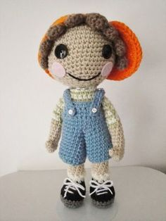 La la Bobby Blue Britches crochet pattern