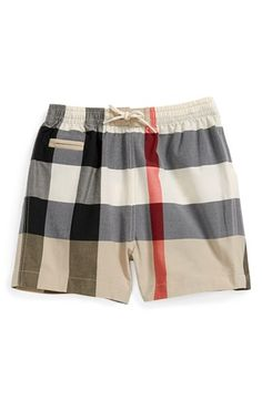 Burberry Check Print Pants (Baby Boys) | Nordstrom
