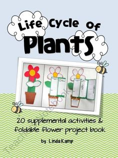 Life Cycle of Plants: includes mini-labs, reading strategies, expository writing, graphic organizers, observation journals, diagrams, vocabulary  cards, anchor charts and culminating foldable project book perfect for assessment.