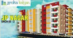 Gruhakalyan Orchid 2 - JPNagar Flats Available 1BHK, 2BHK and 3BHK Visit:www.gruhakalyan.com