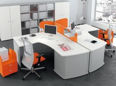 Estel mobili ~ Italian office furniture deck team leader by estel italy