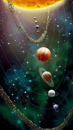 Our Solar System The living planet. Our solar system. Wallpaper Earth, Planets Wallpaper, Wallpaper Space, Mobile Wallpaper, Cute Galaxy Wallpaper, Hd Wallpaper Android, Print Wallpaper, Flower Wallpaper, Space Planets