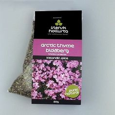 Arctic Thyme - Great spice or tea for cold, flue, asthma and strengthen lungs