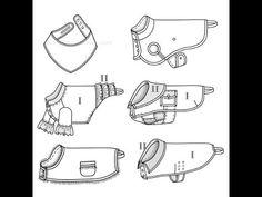 patrones para ropa de perros para imprimir – Corte & Costura