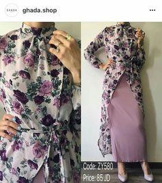 Islamic Fashion, Muslim Fashion, Modest Fashion, Fashion Dresses, Hijab Style Dress, Hijab Outfit, Modest Outfits, Dress Outfits, Stylish Dresses