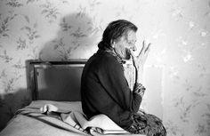 "Jean-Louis Courtinat ""Malade Alzheimer in her Room, Villejuif, 1994"