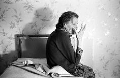 "Jean-Louis Courtinat ""Malade Alzheimer in her Room, Villejuif, 1994"
