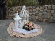 Easy Wedding   Στολισμός εκκλησίας Fey's style Wedding Decorations, Table Decorations, Home Wedding, Wedding Ideas, Simple Weddings, Fountain, Wedding Planning, Outdoor Decor, Home Decor