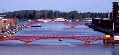 Three Bridges of Borneo/Sporenburg in Amsterdam Netherlands by - Architecture and Interior Design Trends Amsterdam Architecture, World Architecture Festival, Landscape Architecture, Architecture Design, Urban Design Concept, Urban Design Diagram, Three Bridges, Famous Bridges, Design Presentation